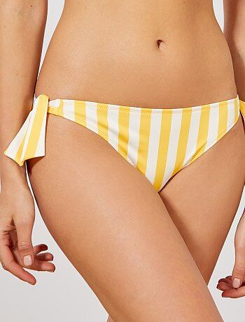 faa82360287a Mutandine bikini fiocchi sui lati - Kiabi