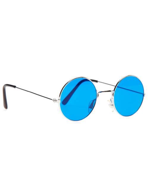 Occhiali hippy tondi                                                         blu