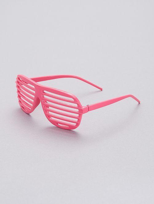 Occhiali striati                                                                             rosa