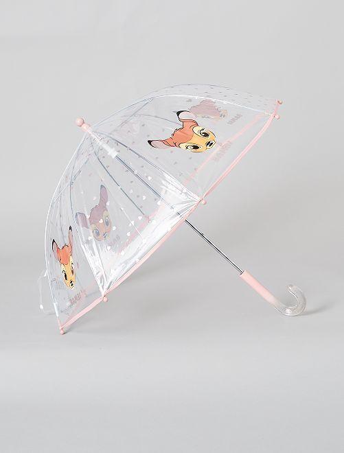 Ombrello trasparente 'Bambi' di 'Disney'                             BIANCO