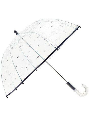 Ombrello trasparente stampa fantasia - Kiabi