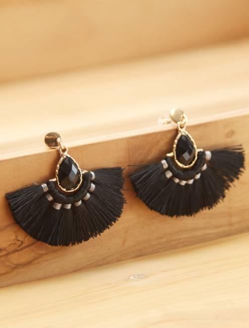 Orecchini creoli                             nero