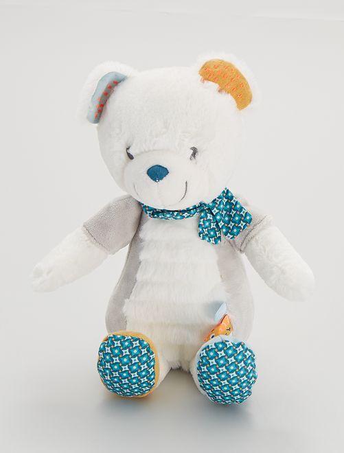 Orso in peluche                             bianco/blu