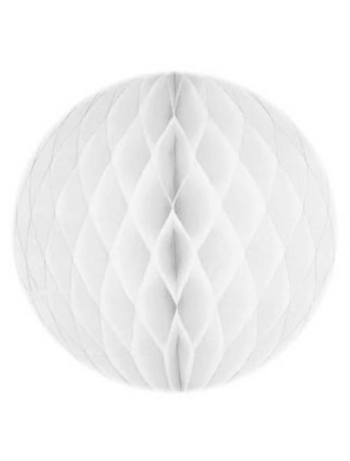 Palla carta alveolare 20 cm                             bianco