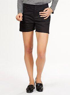 Donna dalla 38 alla 52 Pantaloncini classici raso di cotone