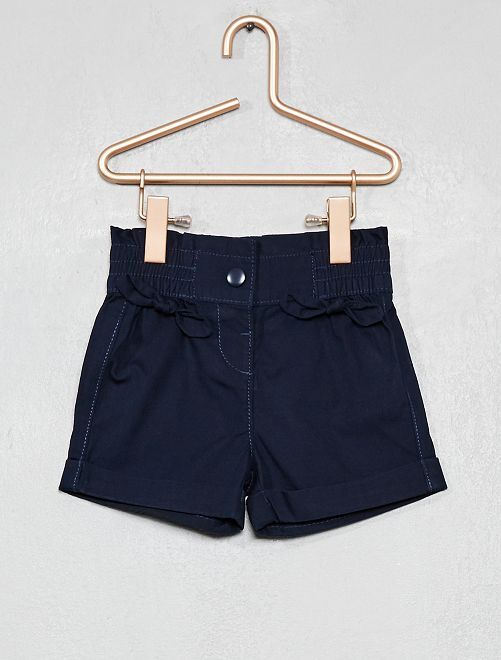 Pantaloncini con fiocchi                                 blu Neonata