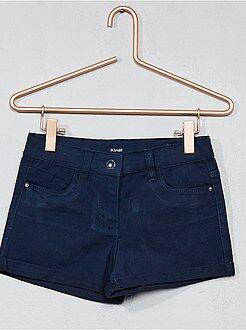 Bambina 3-12 anni - Pantaloncini cotone stretch - Kiabi