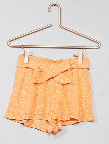 Pantaloncini crêpe - Kiabi