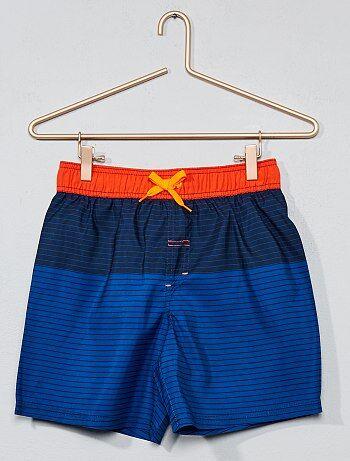 Pantaloncini da bagno a righe - Kiabi