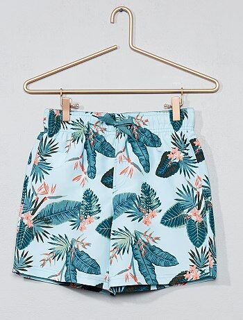 Pantaloncini da bagno 'foglie' - Kiabi