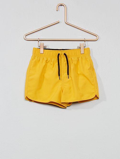 Pantaloncini da bagno stampati                                                     GIALLO Infanzia bambino