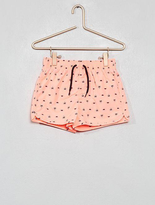 Pantaloncini da bagno stampati                                                     ROSA Infanzia bambino