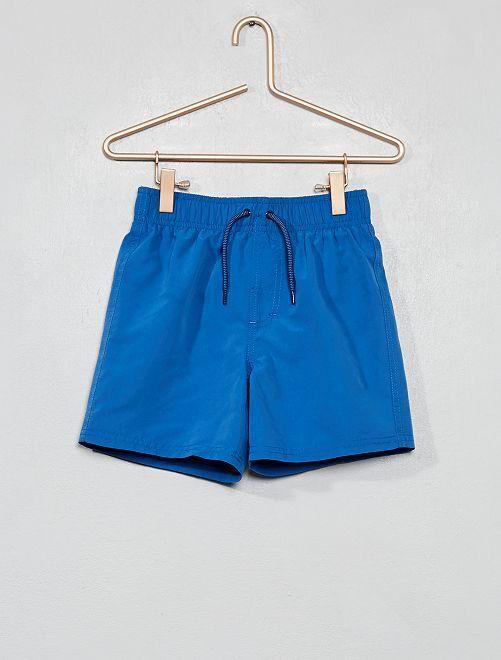 Pantaloncini da bagno tinta unita                                         BLU Infanzia bambino