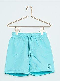 Costumi da bagno, spiaggia - Pantaloncini da bagno tinta unita