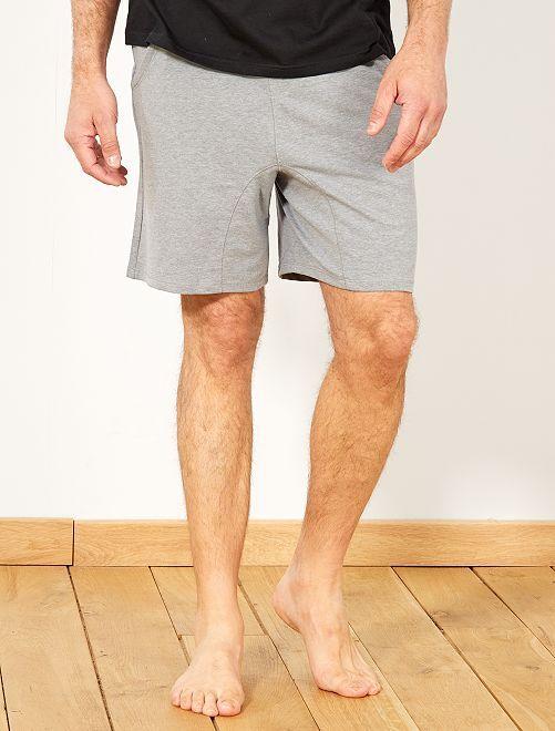 Pantaloncini da notte jersey                                                     GRIGIO Uomo