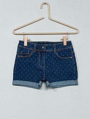 Bambina 3-12 anni - Pantaloncini denim - Kiabi