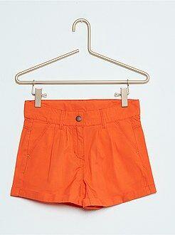 Pinocchietti, pantaloncini - Pantaloncini dritti cotone