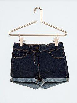 Pinocchietti, pantaloncini - Pantaloncini jeans stretch