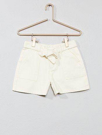 6546c4f0dcf7b6 Saldi pantaloncini, capri, corte in cotone, jeans Bambina   Kiabi