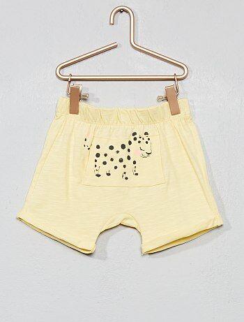 a4faddb6a481 Saldi pantaloncini e bermuda in cotone, di jeans, con motivi Neonati ...