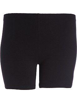 Taglie forti donna Pantaloncini maglia stretch