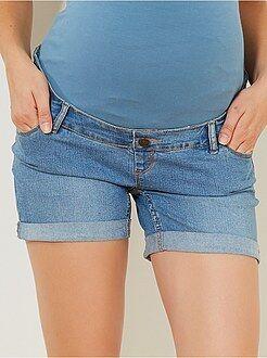 Pantaloncini premaman denim - Kiabi