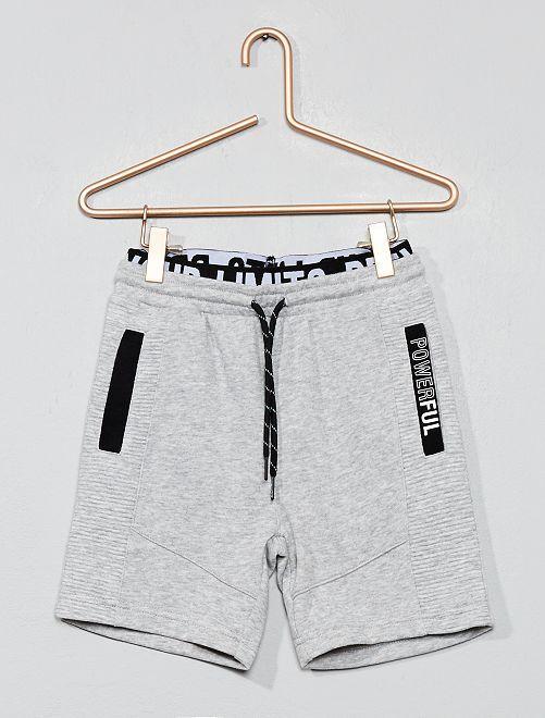 Pantaloncini sport 'powerful'                                                     GRIGIO Infanzia bambino