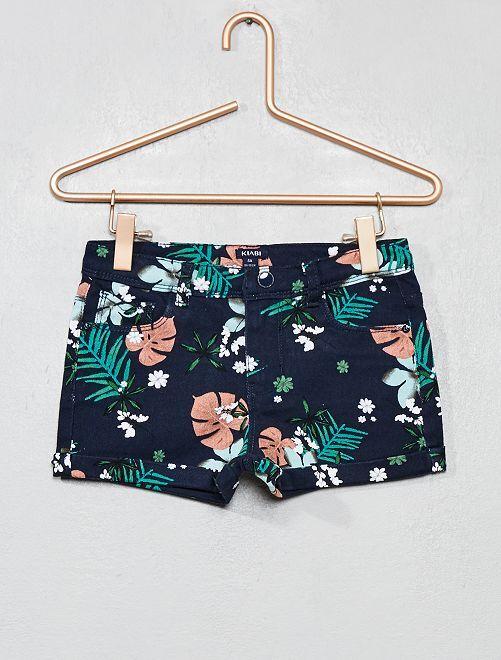 Pantaloncini stampati                     BLU Infanzia bambina
