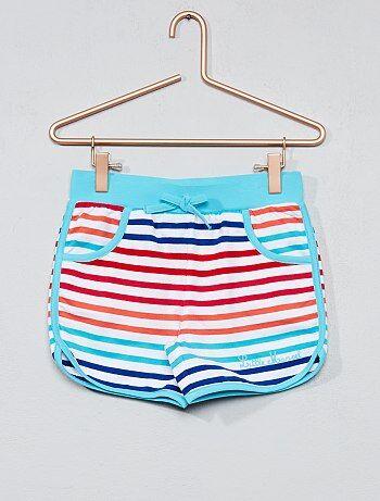 Bambina 3-12 anni - Pantaloncini tessuto felpato - Kiabi