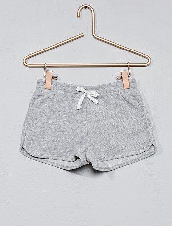 Pantaloncini tessuto felpato tinta unita - Kiabi