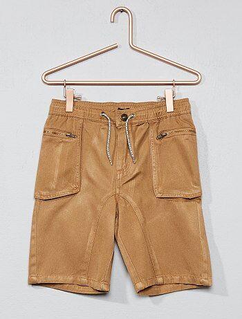 Bambino 3-12 anni - Pantaloncini twill - Kiabi