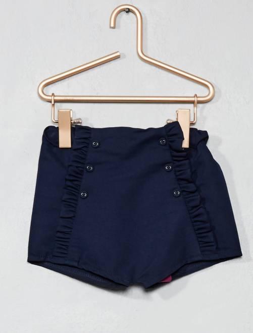 Pantaloncini volant                             blu Neonata