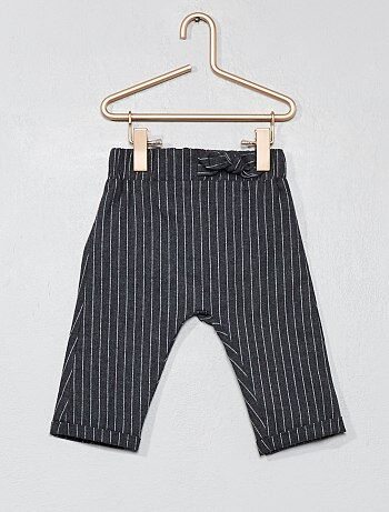 Pantaloni a righe flanella - Kiabi