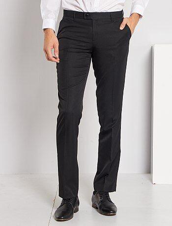 Pantaloni abito in twill taglio dritto - Kiabi