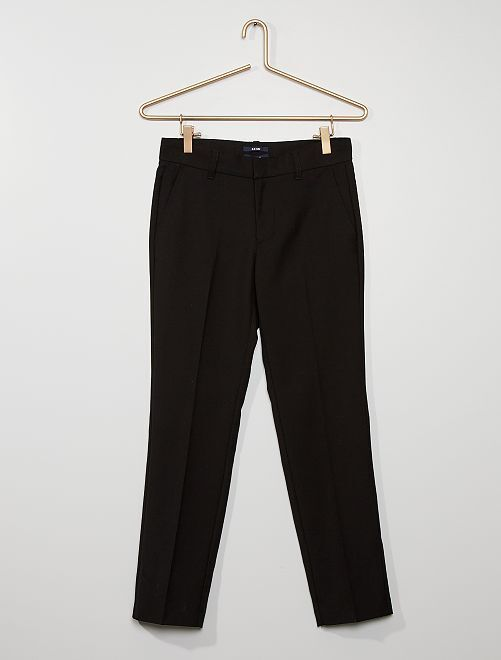 Pantaloni abito                             nero