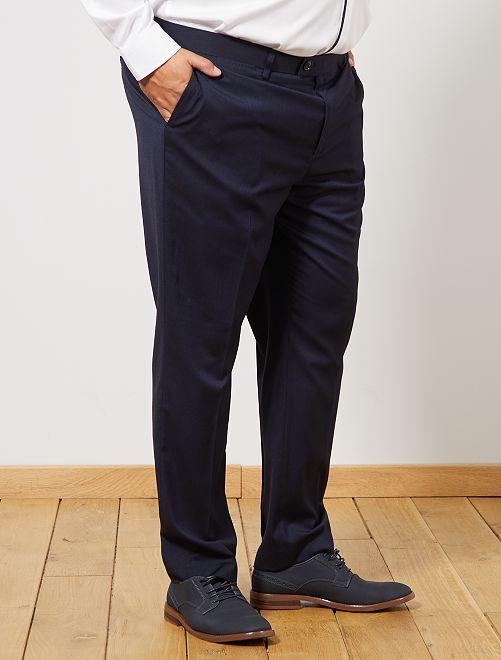 Pantaloni abito regular                             BLU