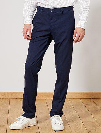 Pantaloni abito regular caviale - Kiabi
