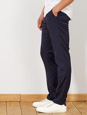 a04a2abac263 Pantaloni abito slim caviale - Kiabi