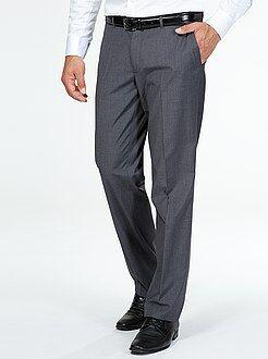 Pantaloni abito taglio dritto