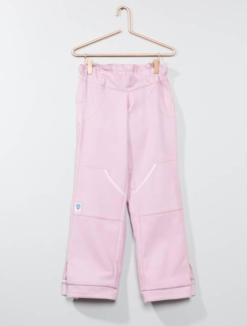 Pantaloni adatti alla sedia a rotelle 'Les loups bleus'                                         rosa