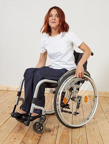 Donna dalla 38 alla 52 - Pantaloni adatti per sedia a rotelle 'A&K Classics' - Kiabi