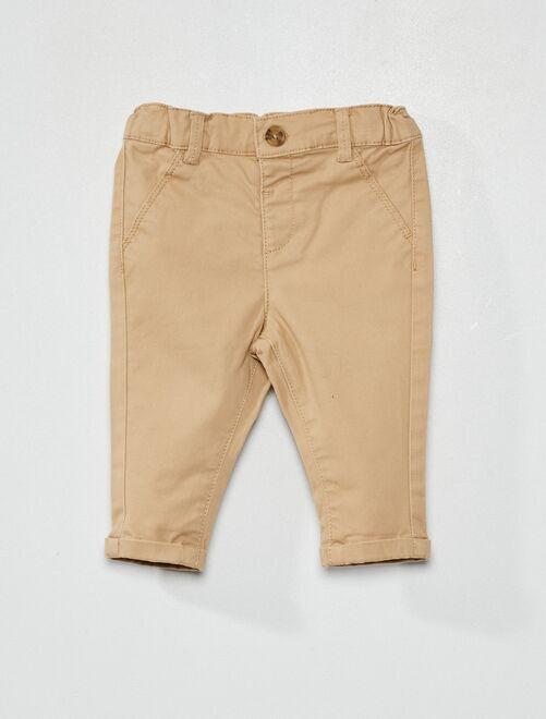Pantaloni chino                                                                             BEIGE
