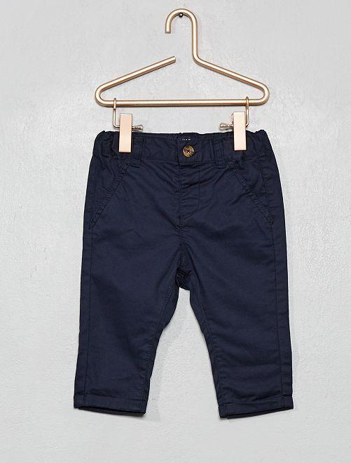 Pantaloni chino                                                     blu