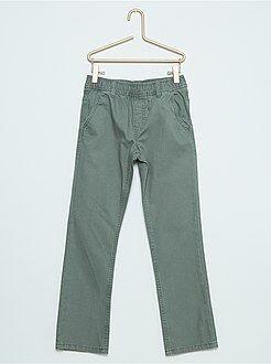 Pantaloni - Pantaloni chino canvas