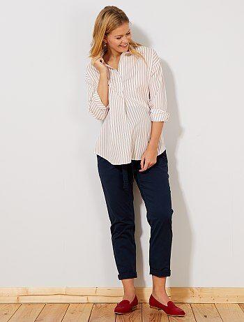Premaman - Pantaloni chino + cintura - Kiabi 1c413a4e17a