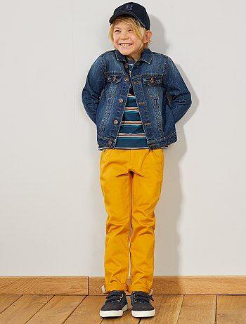 383d59062f35ec Pantaloni chino cinturino a contrasto - Kiabi