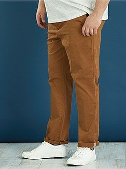 Pantaloni casual - Pantaloni chino colorati semi slim