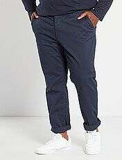 Pantaloni chino fitted twill stretch