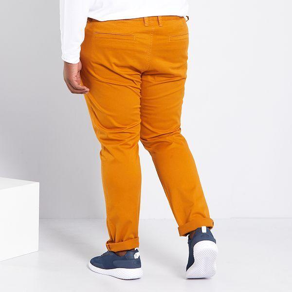 22 24 Pantaloni Donna Marrone Scuro Taglie Forti 16 26 20 18