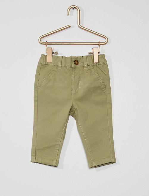 Pantaloni chino                                                                             kaki chiaro